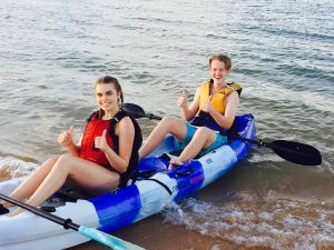 kayaking tour in Wynnum Manly Queensland